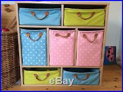 16 basket Lazzari storage unit for bedroom/ playroom/living area