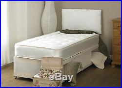 3FT BY 5FT9 SHORT BED WITH STORAGE Single Deep Quilt 3ft Divan Bed SHORTY BED
