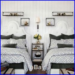 3 in 1 Vintage Metal Wire Shelves Wall Mounted Shelf Rack Storage Display Unit