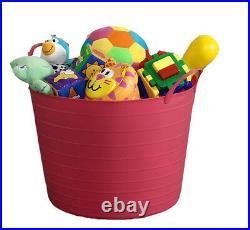 42l Flexi Tub / Toy Box / Kids / Children / Child / Storage / Tidy / Bucket
