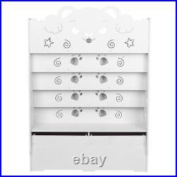 5 Tier Childrens Book Shelf Kids Bedroom/Play room Storage Bookcase Rack Tidy