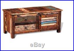 Antique Style Side Cabinet Wooden Bedroom Storage Cupboard Vintage Furniture