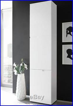 Aspen Tall Narrow Bathroom Cupboard Storage Cabinet Bathroom Furniture