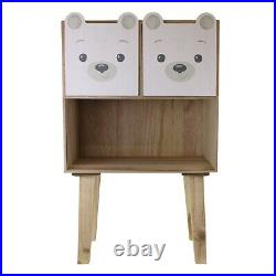 Baby Bear Children's Bedroom Furniture Child Nursery Storage Drawer Unit New