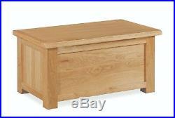 Baysdale Oak Blanket Box / Bedroom Chest / Chest Storage Unit / Rustic Oak