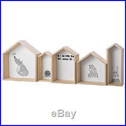 Bloomingville Mini Kids Children's Nursery Bedroom Playroom Storage Shelves