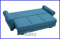 CHESTERFIELD COUCH MODERN Sofa Bed BUKIET with storage SETTEE polskie wersalki