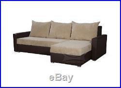 COUCH Corner Sofa Bed MONICA storage UNIVERSAL CHAISE polskie narozniki SETTEE