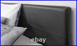 Caspian Ottoman Storage Bed Lift Up Single Double Kingsize Mattress Options