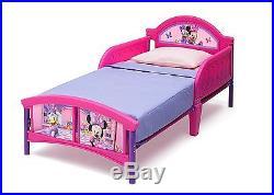 Children Bedroom Set Disney Minnie Mouse 5 Piece Room Set Bed Drawer Storage