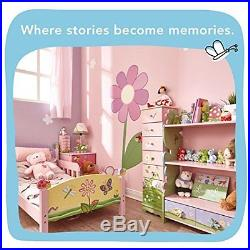 Children Bookcase Room Bedroom Magic Garden Wooden Storage Fantasy Shelf Display