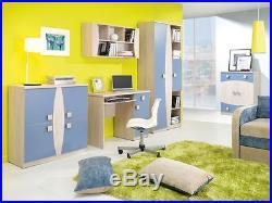 Children Kids Bedroom Furniture Collection TENUS Blue