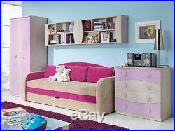 Children Kids Bedroom Furniture Collection TENUS Blue, Green, Heather, Orange