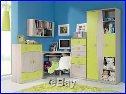 Children Kids Bedroom Furniture Collection TENUS Green