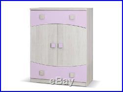 Children Kids Bedroom Furniture Tenus 4 Set / Elements GREEN, BLUE, HEATHER, ORANGE