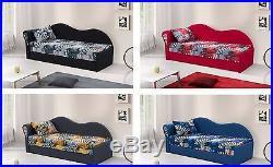 Children Kids Bedroom SOFA BED Upholstered Wersalka kanapa big storage COLOURS