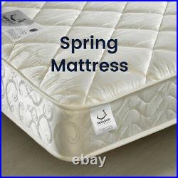 Children's Mid Sleeper, Milo Grey or White Storage Bed Single 4 Mattress Options