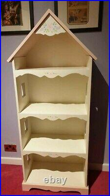 Childrens Kids Bedroom Nursery House Style Storage Bookcase