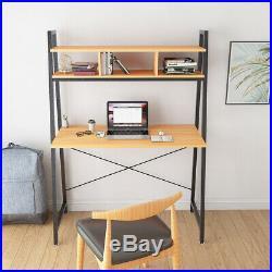 Computer Desk Home Office Study Desk Corner Computer Desk Workstation PC Table