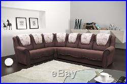 Enjoyable Corner Sofa Bed Benjamin With Storage Universal Corner Brown Squirreltailoven Fun Painted Chair Ideas Images Squirreltailovenorg