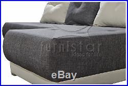 Corner Sofa Bed Settee Sawana Storage Bonell Springs Couch Polskie Narozniki
