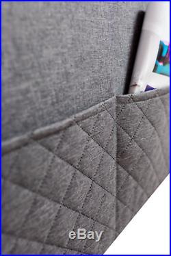 Corner Sofa Bed With Storage Fabric Grey White Ikea Faux Leather Naroznik Carlos