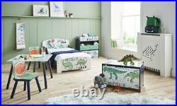 Dinosaur Design Children's Kids Bed Bedroom Nursery Furniture Storage Table