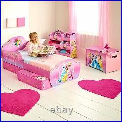 Disney Princess Toddler Bed With Storage Mdf Bedroom Girls