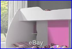 Double Bunk bed MARTIN Kids bedroom with drawer and storage. Fantascic design