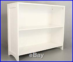 Floor Unit Storage Cabinet 2 Deep Book Shelves For Kids Bedroom Kitchen Hallway