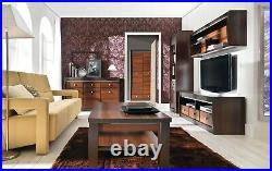 Forrest Living Dining Room Bedroom Furniture Set Dark Walnut Wood Effect Colour