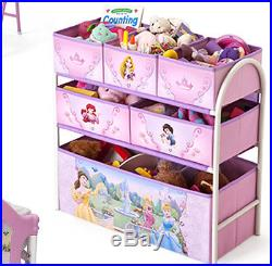 Girls Bedroom Set Furniture Princess Fairy Tale Bed Toy Storage Table Chairs