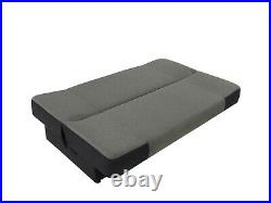 Grey 3 Seater Sofa Bed With Storage, Bonell Springs Sofa, Wersalka Ania