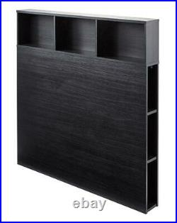 Home Furniture 2 in 1 Bedroom Setting Storage Headboard Double Single Sizes