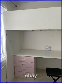 IKEA Smastad bunk bed desk wardrobe bookshelfand 2x storage units Kids Bedroom