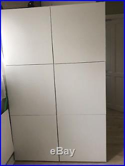 Ikea Besta 2 x besta storage units cabinets cupboards 120w