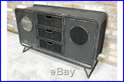 Industrial Factory Style Metal Cabinet Storage
