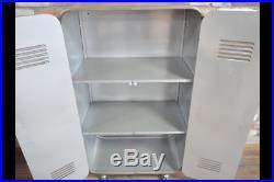 Industrial Reclaimed Rustic Metal Storage Cabinet Shelving Unit (dx5068)