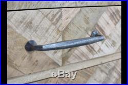 Industrial Rustic Reclaimed Wood & Metal Bedside Storage Cabinet (dx5320)