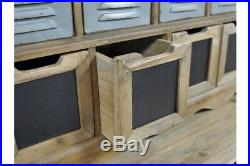 Industrial Storage Unit With Multiple Drawers