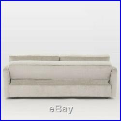 John Lewis Clara Large Double Futon Storage Sofa Bed, Taupe velvet RRP £1399