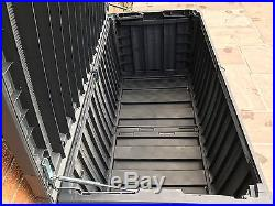 Keter Sumatra Rattan Style Jumbo Plastic Garden Storage Deck Box XL 511 Litre