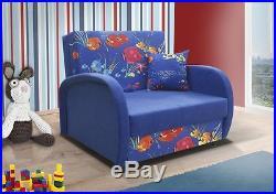 Kids Sofa Bed ZUZA With Storage Wersalka / Tapczanik