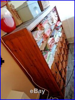 Large Kitchen Bedroom Hall Craft Shop Dresser Cabinet Display Storage Unit