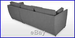 MADE. COM Milner RHF Corner Storage Sofa Bed Night Grey FREE SHIPPING (275)