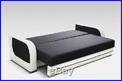 MODERN SETTEE COUCH Sofa Bed TUX with storage BONELL SPRINGS POLSKIE WERSALKI