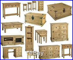 Mexican Pine Corona Occasional Furniture Shelves, Units Free Next Day Delivery