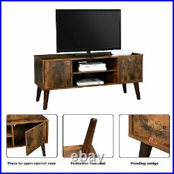 Mid Century TV Stand Media Shelf Storage Shelving Cabinet Retro Scandinavian TV