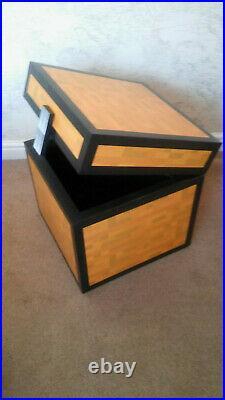 Minecraft Style Large Chest Ideal Kids Childrens Toy Box Storage 50x50x50cm