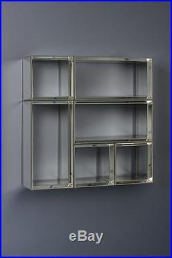 Mirror furniture Luxury floating shelf shelves wall storage display UNO